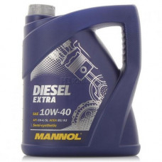 Масло моторное Mannol Diesel Extra SAE 10W40 5L (№1106)