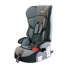 Кресло детское SIGER Прайм Изофикс 1-2- 3 категория 9-36 кг серое (драйв)