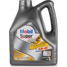 Масло моторное Mobil 1 Super 3000 X1 SAE 5W40 4L (№152566)
