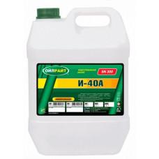 Масло индустриальное OIL RIGHT И-40А веретённое 20L