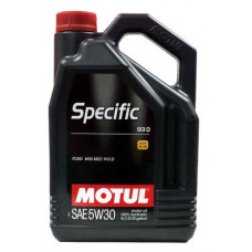 Масло моторное MOTUL SPECIFIC FORD 913D SAE 5W30 5L (№104560)