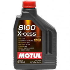 Масло моторное MOTUL 8100 X-cess SAE 5W40 SN/CF 1L (№109774)