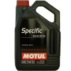Масло моторное MOTUL SPECIFIC VW 504.00/507.00 SAE 5W30 1L (№106374)