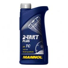 Масло моторное двухтактное Mannol 2-TAKT UNIVERSAL 2Т 1L (№1408)