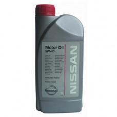 Масло моторное NISSAN SAE 5W40 SN/CF 1L (№KE90090032R)