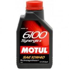 Масло моторное MOTUL 6100 Synergie+ SAE 10W40 SN/CF 4L (№109463)