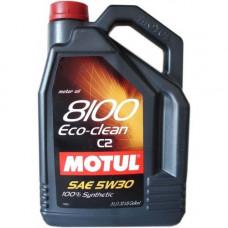 Масло моторное MOTUL 8100 ECO-CLEAN SAE 5W30 SN/CF 1L (№101542)