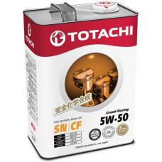 Масло моторное TOTACHI Grand Racing SAE 5W50 SN/CF 1L