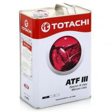 Жидкость для АКПП (гидромасло) TOTACHI ATF DEXRON III 4L