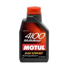 Масло моторное MOTUL 4100 Multidiesel SAE 10W40 CF 1L