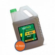 Масло индустриальное OIL RIGHT И-40А веретённое 5L