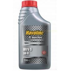 Масло моторное TEXACO Havoline Ultra S SAE 5W40 1L