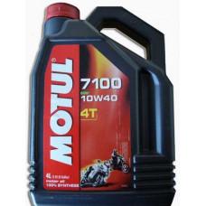 Масло моторное для 4-тактн. мототехн. MOTUL 7100 4Т SAE 10W40 4L (№104092)