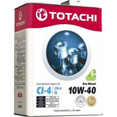 Масло моторное TOTACHI Eco Diesel SAE 10W40 Cl-4/CH-4/SL 200L розлив